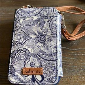Sakroots phone case/wallet